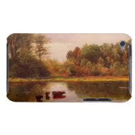 Cows In A Watering Landscape Albert Bierstadt Barely There iPod Cases