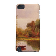Cows In A Watering Landscape Albert Bierstadt iPod Touch 5G Cases