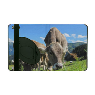Cows in Austria iPad Case