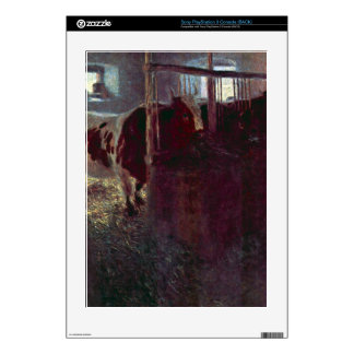 Cows in Stall by Gustav Klimt Decal For The PS3