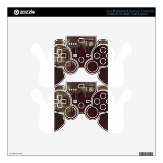 Cows in the barn by Gustav Klimt PS3 Controller Skin