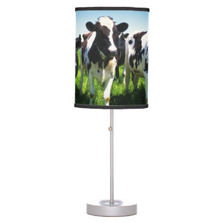 Cows in the field, Betsukai town, Hokkaido Desk Lamp