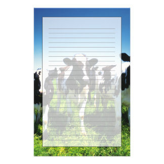 Cows in the field, Betsukai town, Hokkaido Stationery Paper