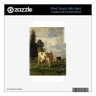 Cows in the Field by Constant Troyon Decals For iPod Touch 4G