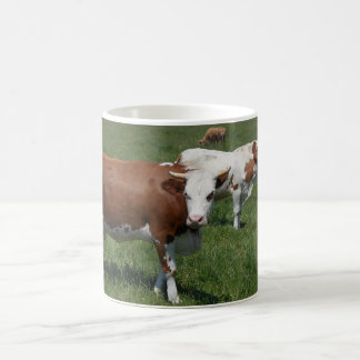 Cows In The Pasture Coffee Mug