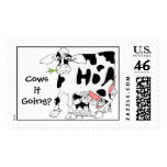 Cows it Going? Custom Postage Stamp