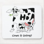 Cows it Going? Mousepad