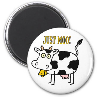 Cows: Just Moo! Magnet
