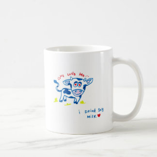 Cows Love Me... I drink soy milk Coffee Mug