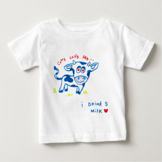 Cows love me... I drink soy milk T-shirt