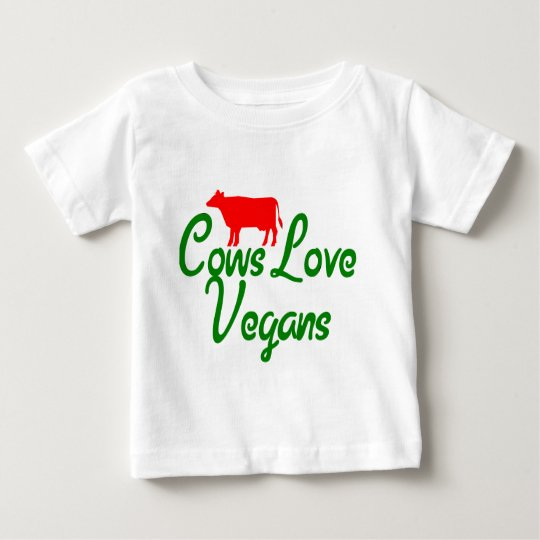 Cows Love Vegans Baby T-Shirt