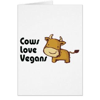 cows love vegans card