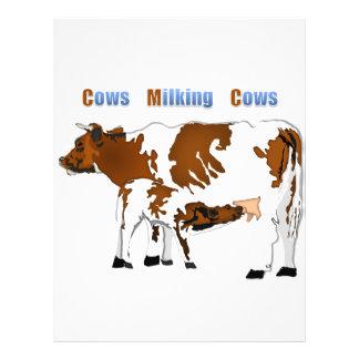 Cows Milking Cows Custom Flyer