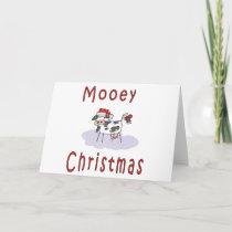 Cows: Mooey Christmas Holiday Card