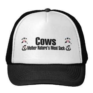 Cows Mother Natures Meat Sack Trucker Hat