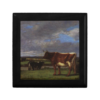 Cows near the Toques by Eugene Boudin Gift Box