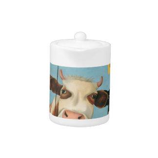 Cows On Strike Teapot