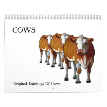 COWS: Original Art Calendar