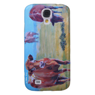Cows painting galaxy s4 case