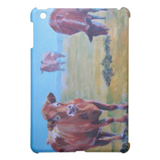 Cows painting iPad mini cover