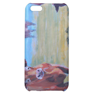 Cows painting case for iPhone 5C