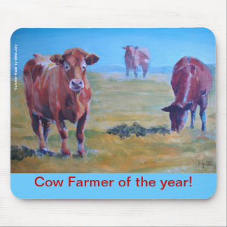 cows painting mousepads