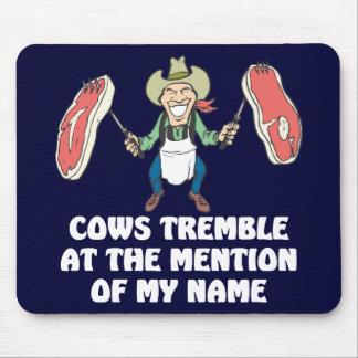 Cows Tremble Mouse Pad