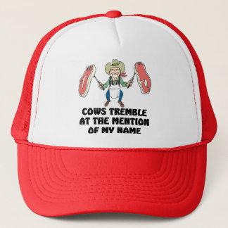Cows Tremble Trucker Hat