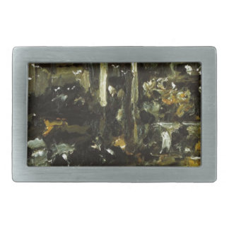 Cowshed by Lovis Corinth Belt Buckle