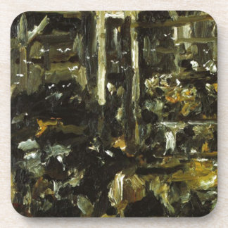 Cowshed by Lovis Corinth Drink Coaster