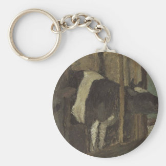 Cowshed by Paula Modersohn-Becker Keychain