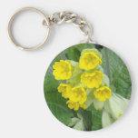 Cowslip Flowers Keychain