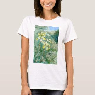 Cowslips Primula veris T-shirt