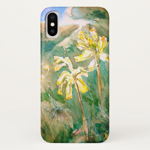 Cowslips Primula veris Yellow Flowers iPhone XS Case