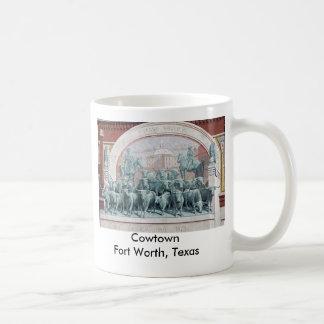 Cowtown Fort Worth Tejas Tazas De Café