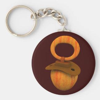 Cox Apple Pacifier Keychain