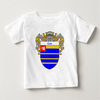 Cox Coat of Arms (Mantled) Baby T-Shirt