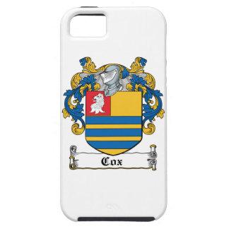 Cox Family Crest iPhone 5 Cases