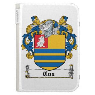 Cox Family Crest Kindle Case