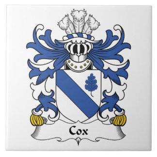 Cox Family Crest Tile