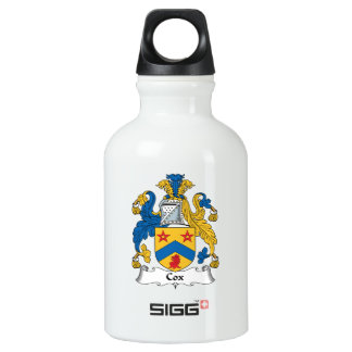 Cox Family Crest Water Bottle