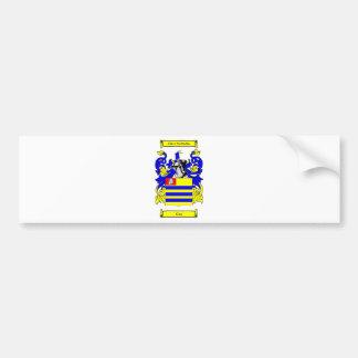 Cox (Irish) Coat of Arms Bumper Sticker
