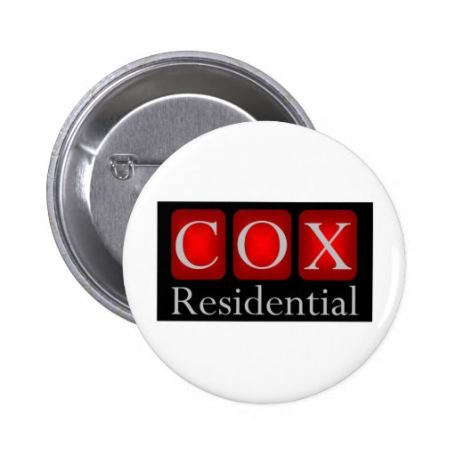 Cox Residential Basic Apparel 2 Inch Round Button