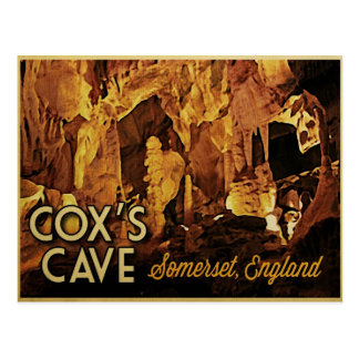 Cox s Cave England Post Card