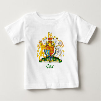 Cox Shield of Great Britain Baby T-Shirt