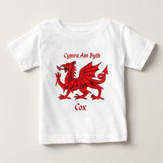 Cox Welsh Dragon Baby T-Shirt