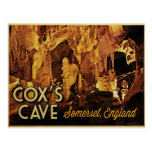 Cox's Cave England Post Card