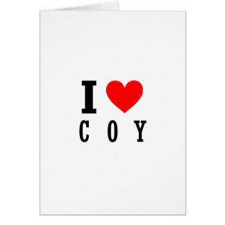 Coy, Alabama City Design Card