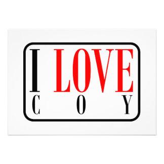 Coy, Alabama City Design Custom Invites