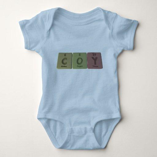 Coy as Carbon Oxygen Yttirum Baby Bodysuit